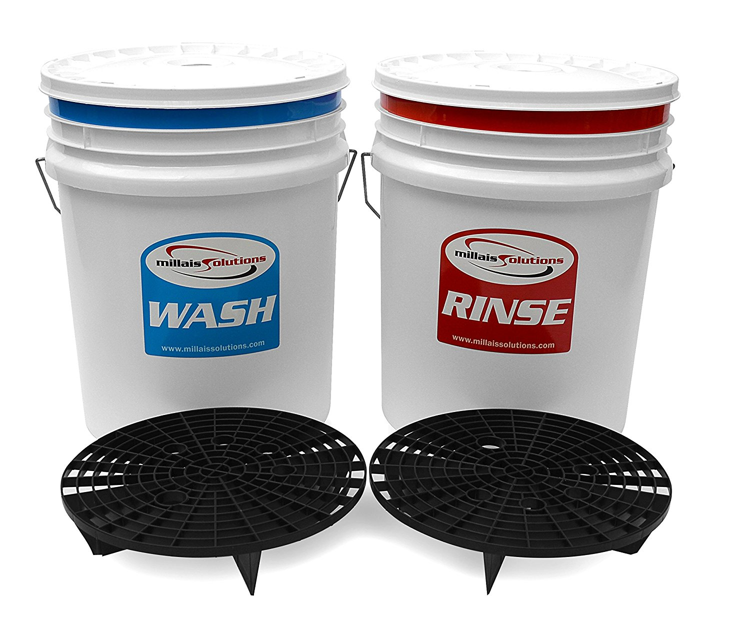 Wash your car using the two-bucket system