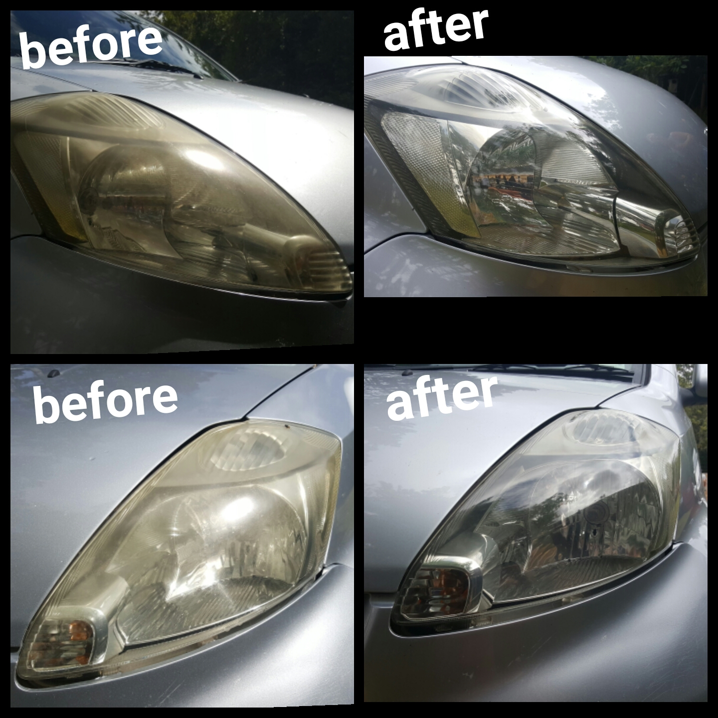Foggy headlight restoration