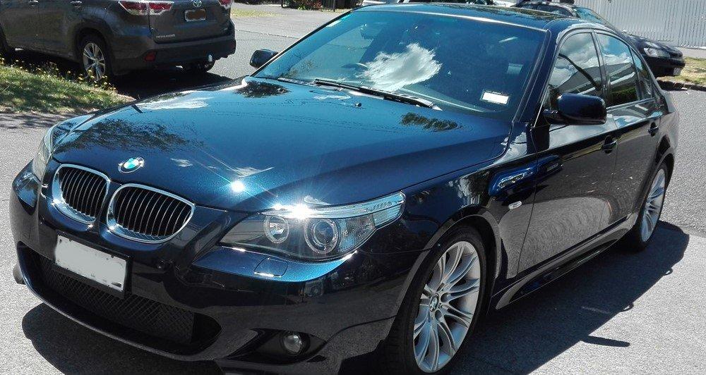 BMW after polish